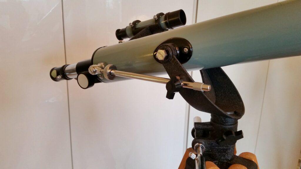 Refraktor Viking 60/700 mm po renowacji
