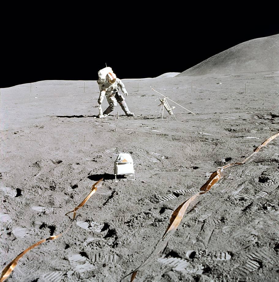 Okolice Mons Hadley - Apollo 15
