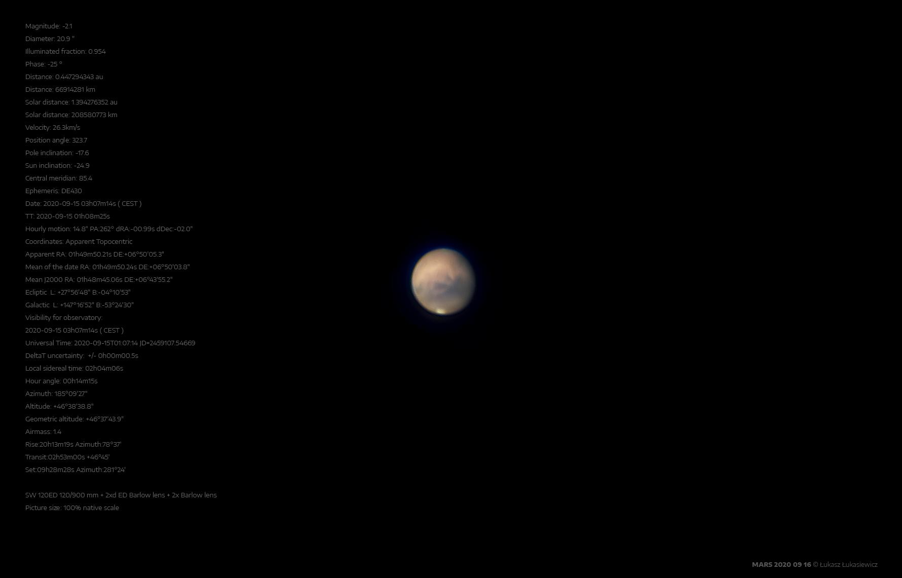 MARS 2020-09-16