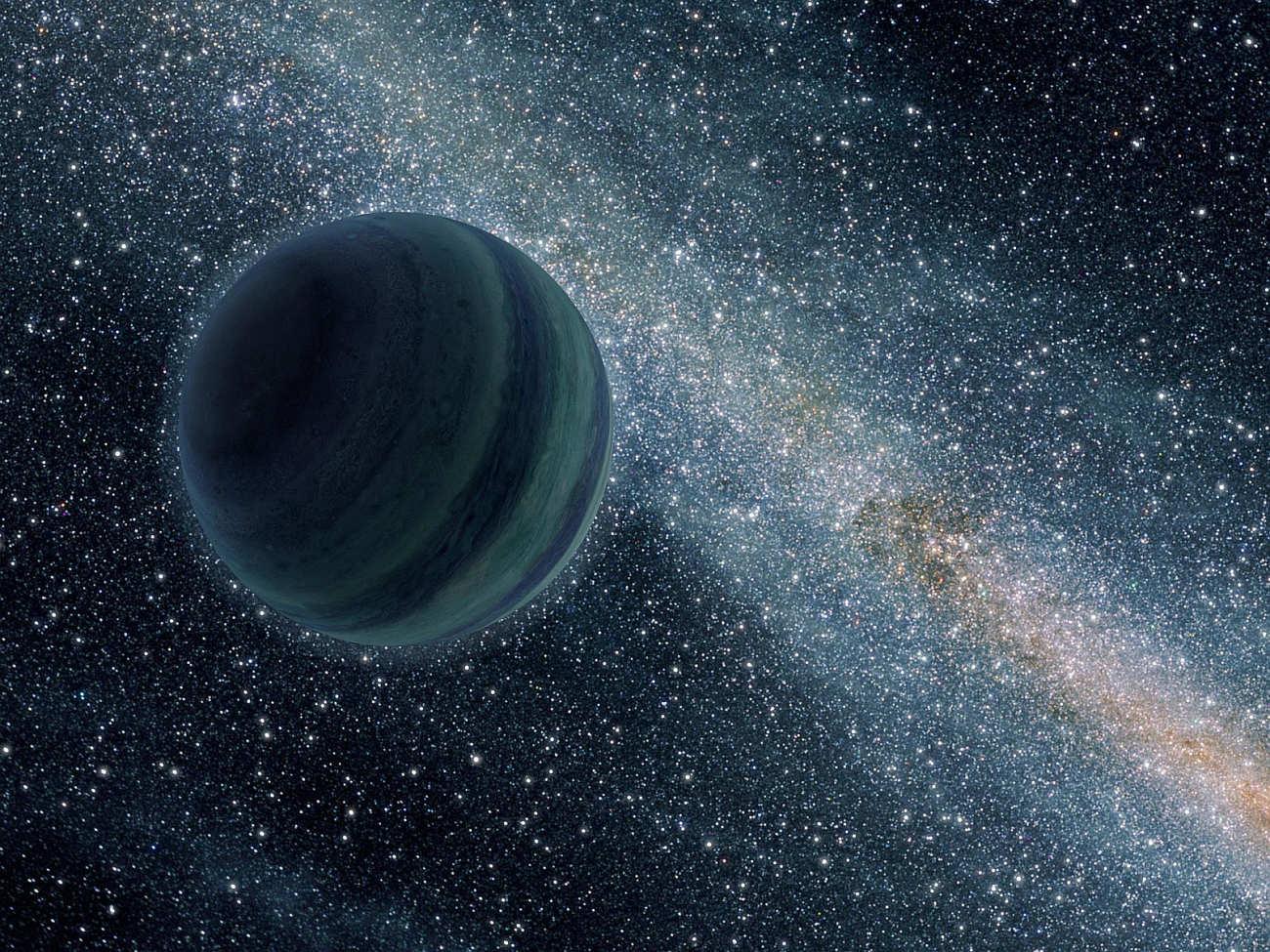 Planeta swobodna - wizualizacja