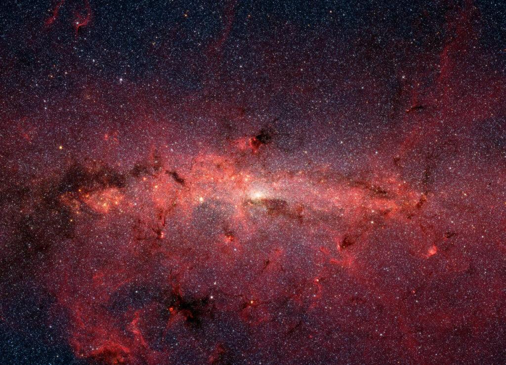 Centrum Galaktyki w podczerwieni