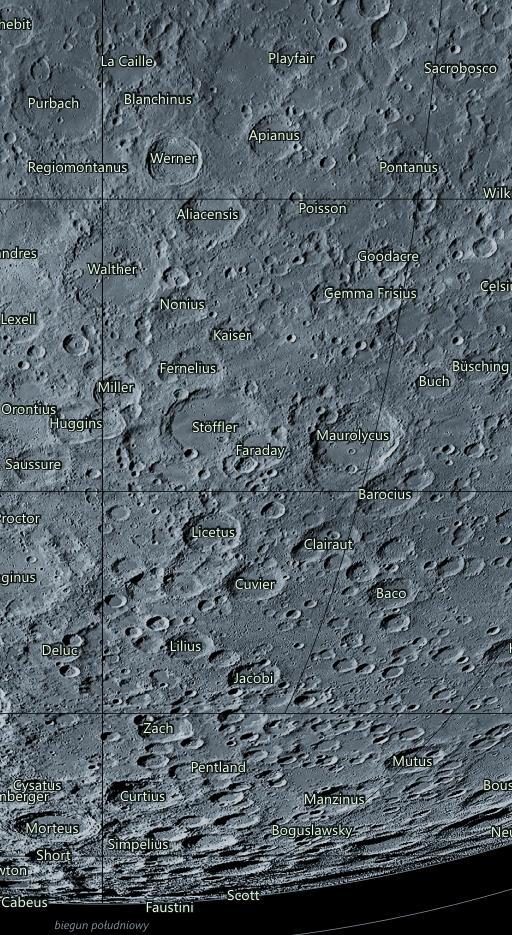 mapa księżyca gemma frisius