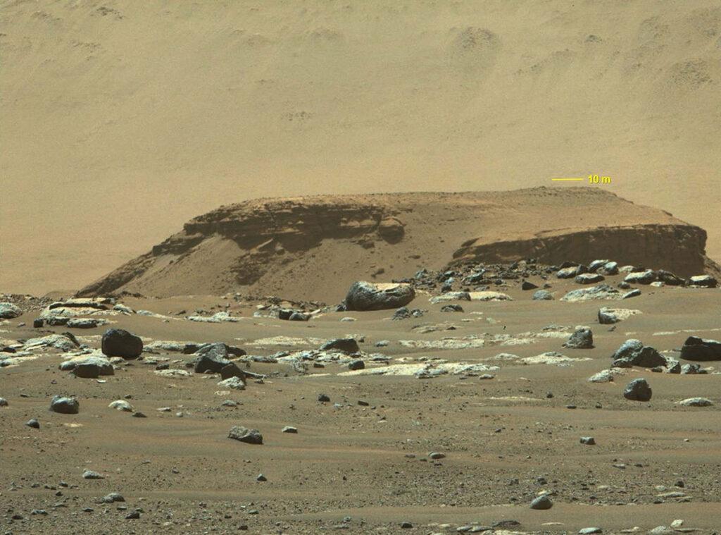 Krater Jezero - Mars