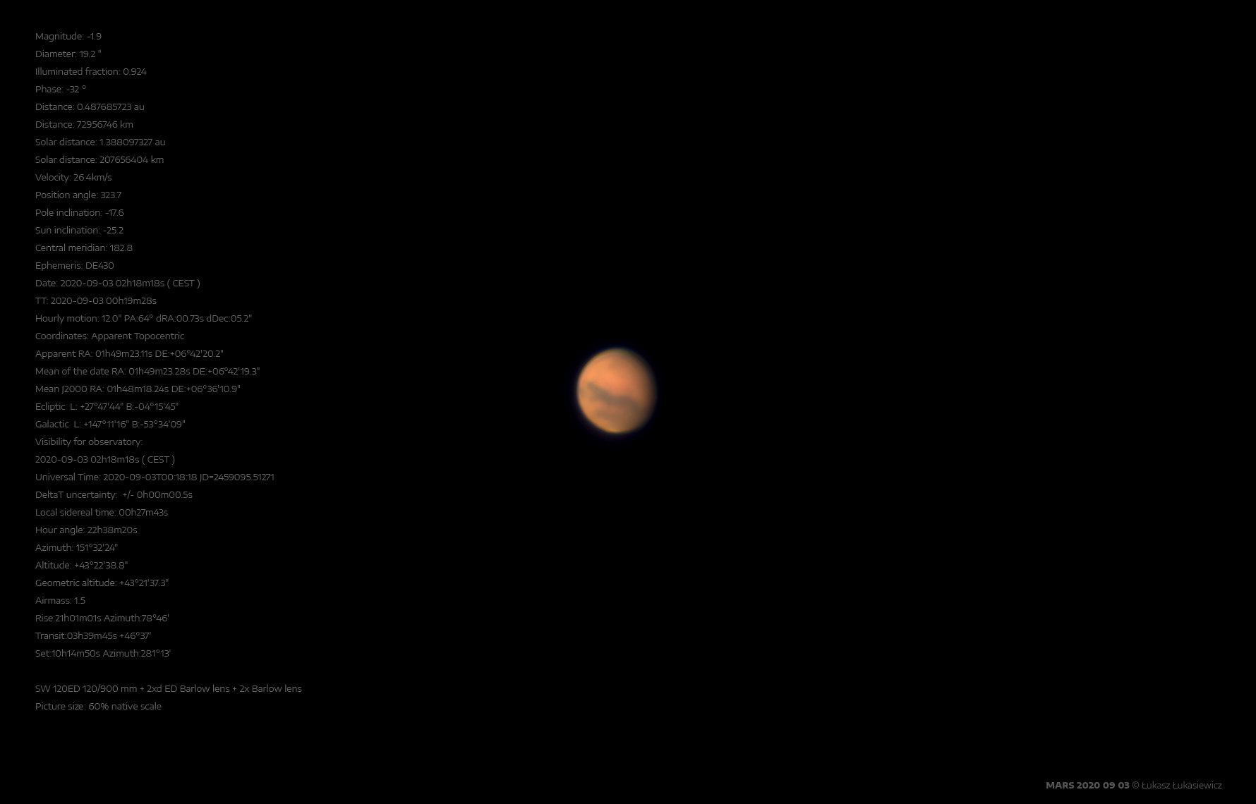 MARS 2020-09-03