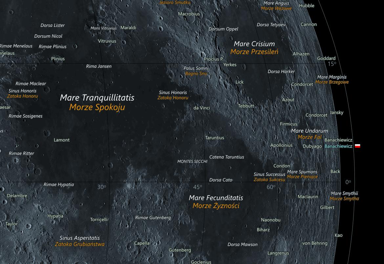 Mapa Księżyca - kadr