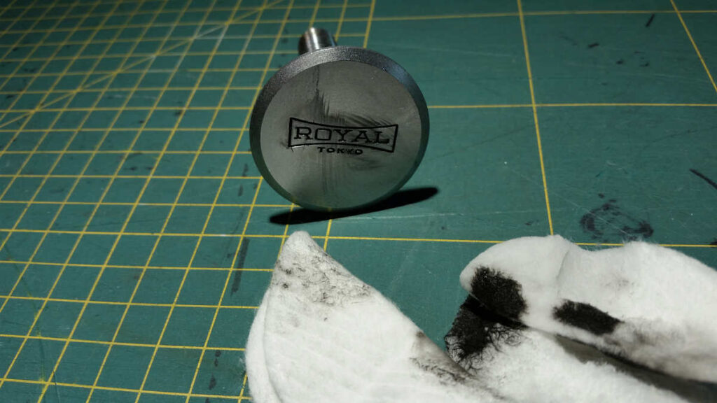 Royal Astro R-74 montaż paralaktyczny - czyszczenie i wymiana smaru