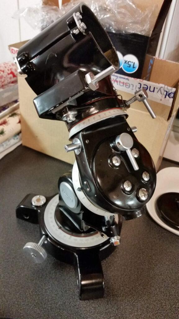 Royal Astro R-74 montaż paralaktyczny