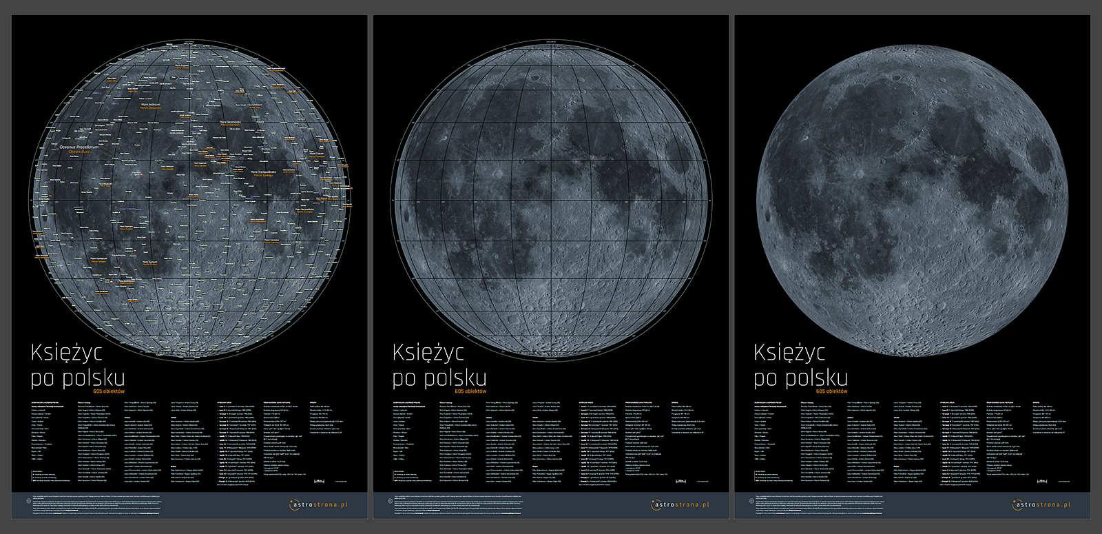 Mapa Księżyca