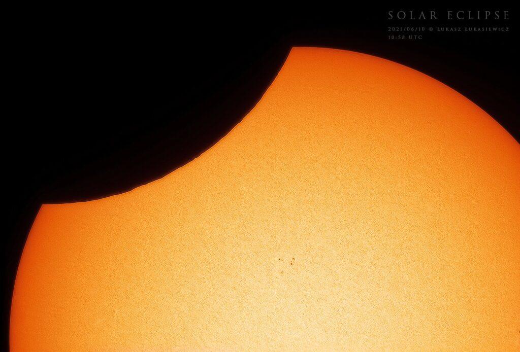 Zaćmienie słońca 10 czerwca 2021